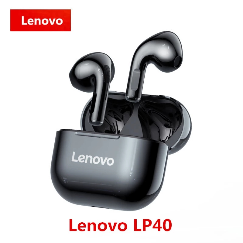 New Lenovo LP40,TWS,Wireless,Earbuds Original Bluetooth Touch Control Sports Earbuds Stereo Earbuds for Gaming Android Phone