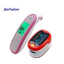 Finger Pulse fingertip Oximeter children kids De Pulso De Dedo Pediatric oximetro SpO2 Saturation Meter Ear Forehead Thermometer