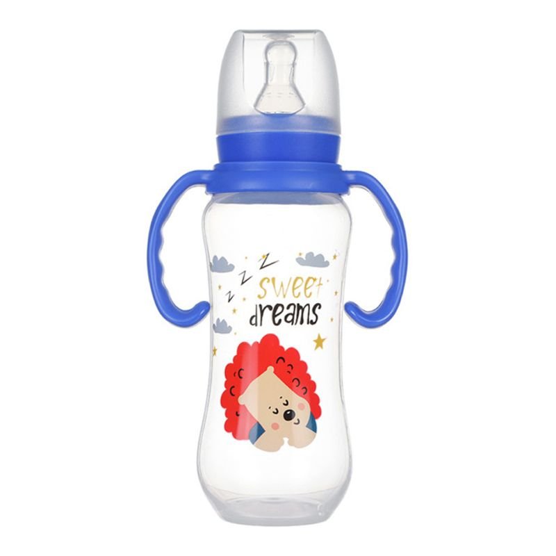240ml Baby Bottle Infant Newborn Feeding Drinking Milk Water Bottle Training Cup K1KC