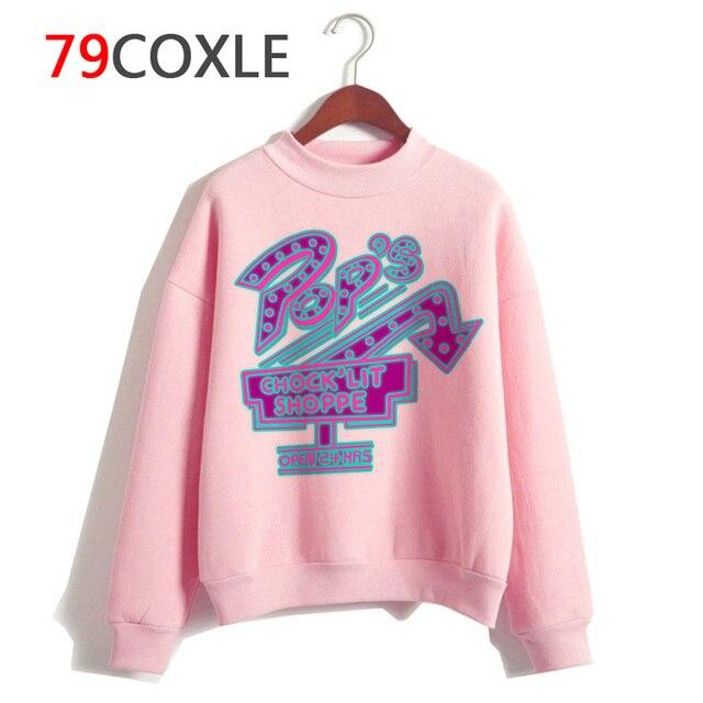 Riverdale South Side bluza z kapturem węże SouthSide kobiety bluzy ulzzang 90s harajuku Casual bluzy z kapturem bluzki damskie śmieszne