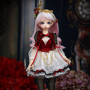 BJD Dolls Fairyland Minifee Ante doll 1/4 girls toys msd luts fairyline wigs eyes blue fairy silicone resin furniture(China)