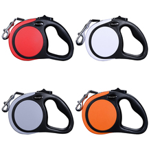 High Quality Pet Retractable Leash 5M For 20kg 50kg 5 Colors Medium and Large Dog Puppy Automatic Lead