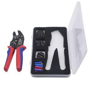 Image 5 - Обжимные плоскогубцы, набор многофункциональных обжимных штампов, инструменты для клемм Dupont, многофункциональный инструмент для электрического коннектора (подарок для клемм проводов)
