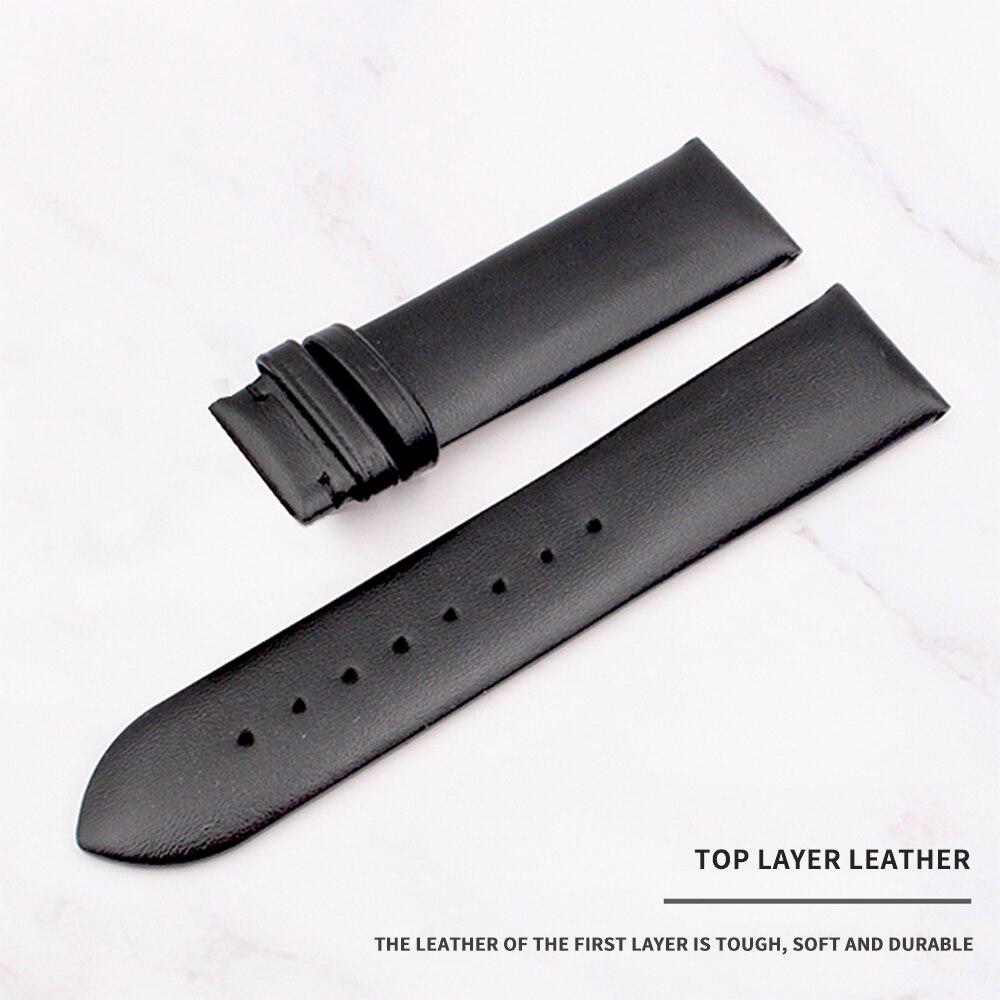 Armani için yüksek kalite Erkekler Kadınlar Hakiki Deri Saat - Saat Aksesuarları - Fotoğraf 5