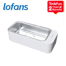 2021 Lofans Ultrasonic Cleaners Youth Edition sonic vibrator cleaning bath ultrasound wibrator apparatus washing