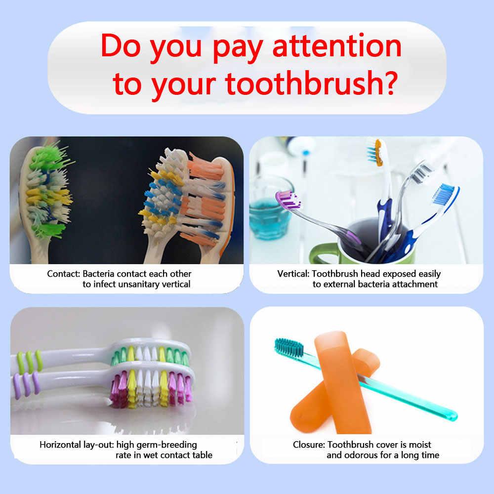 Nowy 2 w 1 światło ultrafioletowe ultrafioletowe sterylizator szczoteczki do zębów automatyczny dozownik pasty do zębów uchwyt na szczoteczkę do zębów higiena jamy ustnej zestaw do czyszczenia