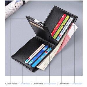 Image 3 - Williampolo男性の財布本革財布カジュアルなデザイン二つ折りブランド短財布carteira masculina PL191431SMT