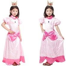 Маскарадные костюмы для девочек на Хэллоуин; детское платье принцессы феи с цветочным рисунком и бантом; платье эльфа для выступлений; Ropa для детей