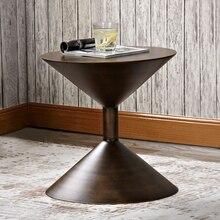 Маленькая мебель для дома, металлический журнальный столик, столик для гостиной, художественный столик для отдыха, чайный столик