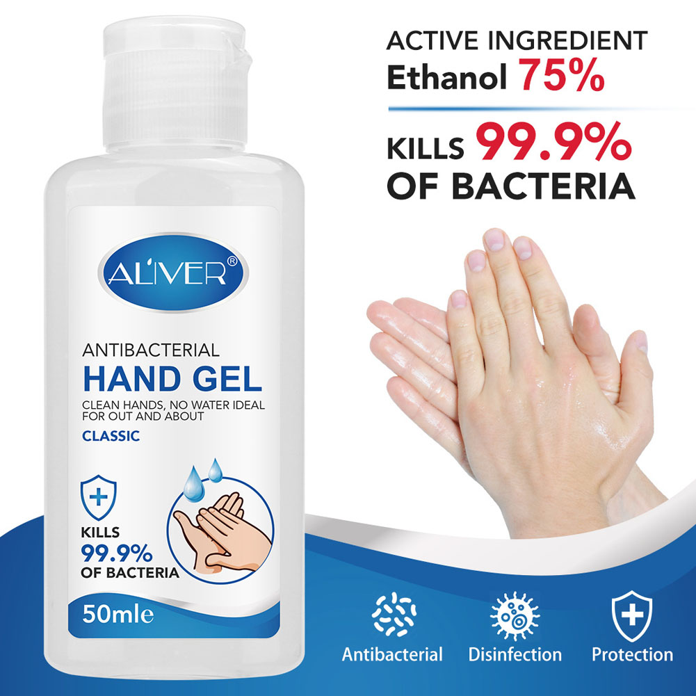 70ml Hand Sanitizer Antivirus Gel Antibacterial Hand Gel Disinfection Gel Quick-dry  Natural Hand Care Hand Sanitiser No Wash