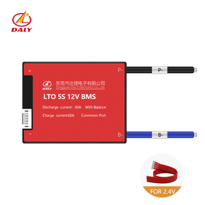 18650 5s LTO bms 12v 20A 40A 60A lithium battery management system board LTO bms pcm pcb for Solar energy store(China)