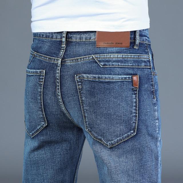 Men's Blue Stretch Smart Jeans
