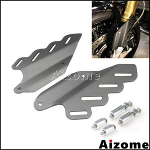 3 Color Motorcycle Aluminum Fork Tube Guard Covers For BMW R NINET R9T 2014-2017 Rear Brake Caliper Cover