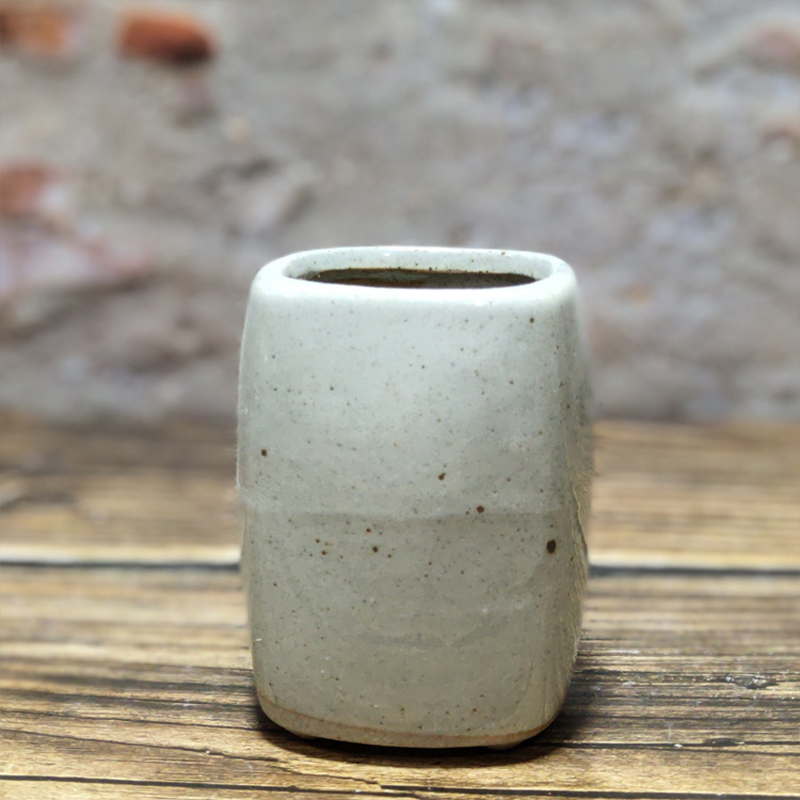 Creative Simple Ceramic Fleshy Flower Pot Stoneware Mini Thumb Flower Pot Balcony Potted Plant Home Garden Just6F