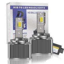 2Pcs D3S D4S D1S LED 6000K Car Headlight D3s D1s led Bulb Canbus Lamp D4S 35W CSP D8S D5S D1R D3R D2R D4R
