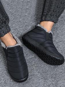 Winter Shoes Footwear Snow-Boots Lightweight Warm Plus-Size Ankle for Men Unisex 37/47