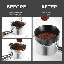 Anillo de dosificación anticaída magnético para máquina de café Delonghi Cafemasy, 51MM, 53MM, 58MM, embudo, tazón de cerveza, herramienta para café en polvo