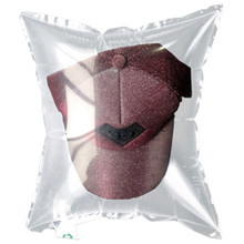 100Pcs Glasses Baseball Cap Packaging Open Air Column Packing Bags Buffer Bag Pressure Defense Packaging Add Thick Double Sides