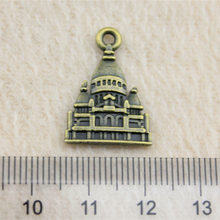 Retail Display 1 Piece 22x16mm Baroque Castle Charms Charm Pendant Jewelry Findings(China)