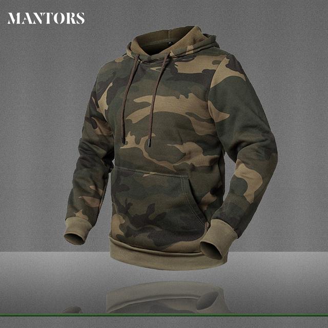 Mens Long Sleeve Hoodie Sweatshirt Camouflage Hat Casual Mens Fleece Hoodies Moletom Masculino Hoody Male Pullover Brand Clothes
