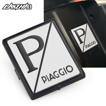 Motorcycle Front Head Fairing Badge Plate Tablet Square Sticker for Piaggio Vespa GTS 250 300 Sprint Primavera 150 LX150 S150