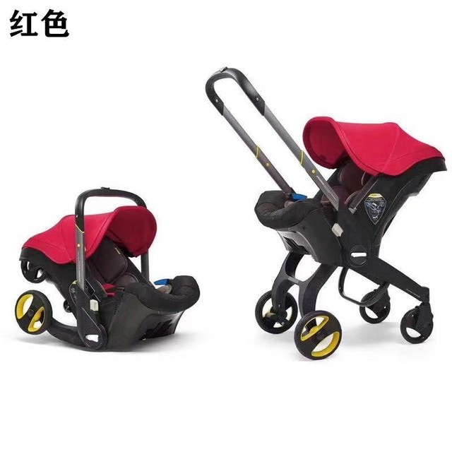 Baby Stroller 4 in 1 With Car Seat Baby Bassinet High Landscope Folding Baby Carriage Prams For Newborns Landscope