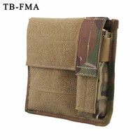 Tactical Pouches Admin&Light MAP Pouch Molle Bags Military Tactical Accessory Multicam Black for Hunting Skirmish Airsoft Pouches     -