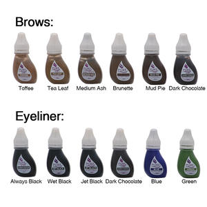 Pigment Makeup-Tattoo-Inks Eyebrow-Eyeliner Permanent Biotouch Original USA for Lip