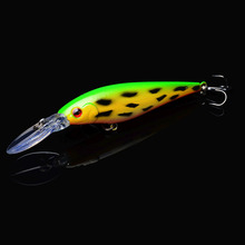 1pcs Minnow Fishing Lure 11cm 11g Wobblers with 6# Hooks Floating Hard Bait Tackle Pesca Carp Crankbait