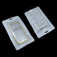 500Pcs/ Lot Event Mobile Phone Case Cover Retail Packing Package Bag For iPhone 4 4S 5 5S 6 Plus Plastic Ziplock Poly Pack White
