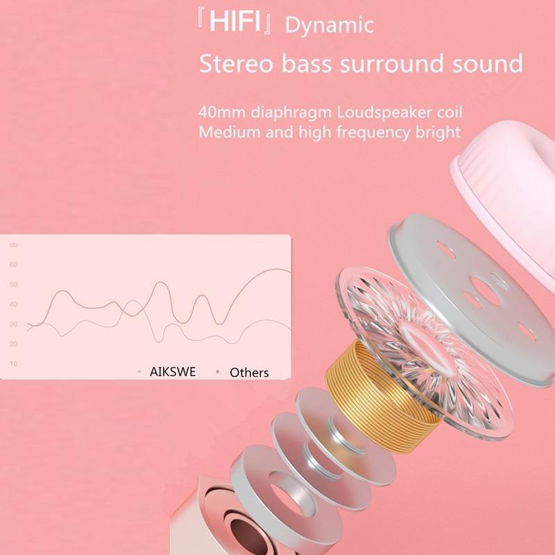 Kawaii Cat Ears & Paw Glowing Headphones 3