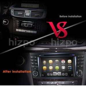 Image 3 - Car DVD radio Multimedia HeadUnit For Mercedes Benz E Class W211 W463 W209 W219 USB GPS Monitor SWC Free 8G Map card Rear Camera