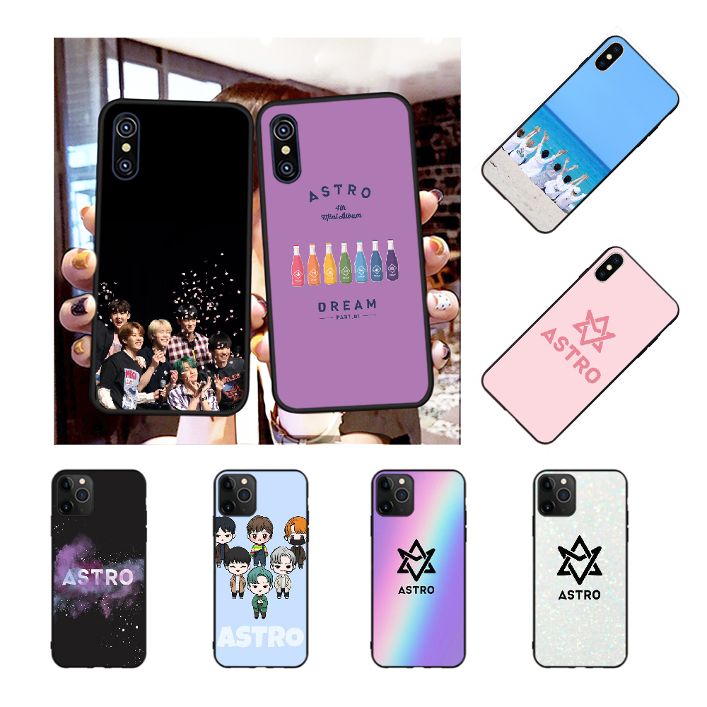 NBDRUICAI KPOP ASTRO Customer High Quality Phone Case for iPhone 11 pro XS MAX 8 7 6 6S Plus X 5S SE XR case