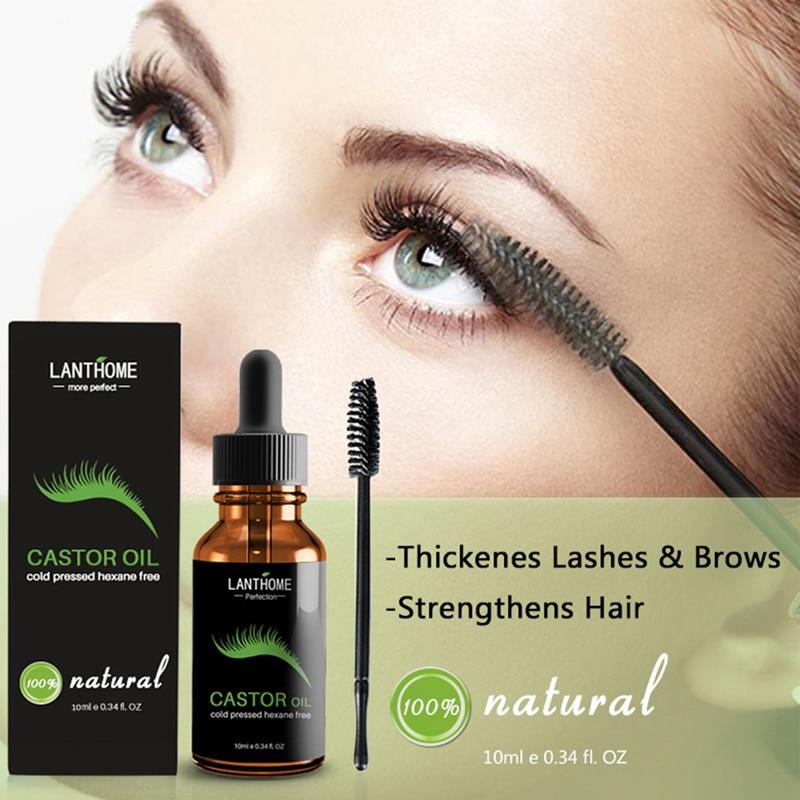 Eyelash Growth Liquid Serum Enhancer Eye Lash Lift Mascara Essential Oil Makeup
