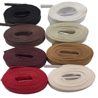 Coolstring-zapato plano cordones de algodón encerado para hombre, impermeable, botas con cordones, informal, color, Unisex