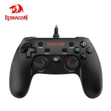 Redragon SATURN G807 Gamepad,Wired PC Game Controller,Joystick Dual Vibration, Saturn, for Windows PC,PS3,Playstation,Android