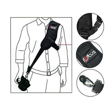 Focus F-1 Camera Strap Quick Release Rapid Shoulder Sling Neck Strap Belt for Canon Nikon Sony Pentax Olympus Photo Accessories mcoplus ec snf e s auto focus electronic adapter ring for nikon f mount lens transfer to sony e mount camera