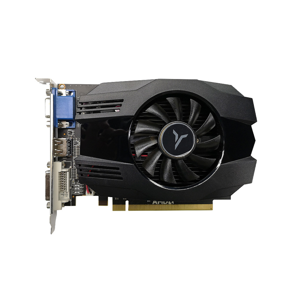 Yeston R5 240-4GD3 VA Graphic Card DirectX11 4GB/64bit 1333MHz Low Power Consumption GPU For PC