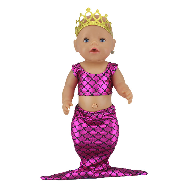 NEW Lovely Mermaid Suit Fit For 17 Inch  Dolls 43cm  Doll Clothes, Doll Accessories
