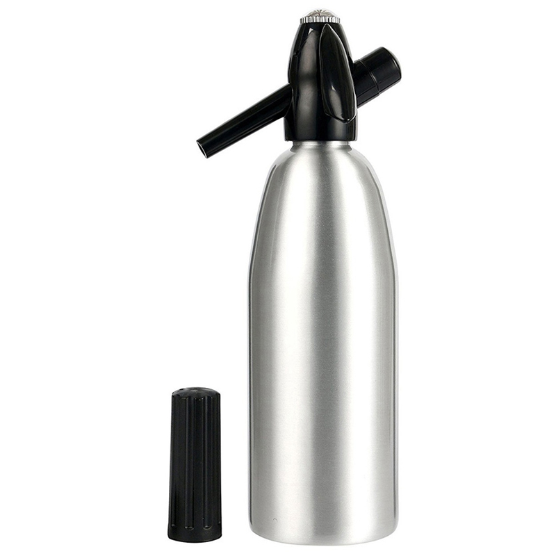 Professional Soda Siphon 1L Aluminum Co2 Flash Soda Stick Tool Water Dispensers     - title=