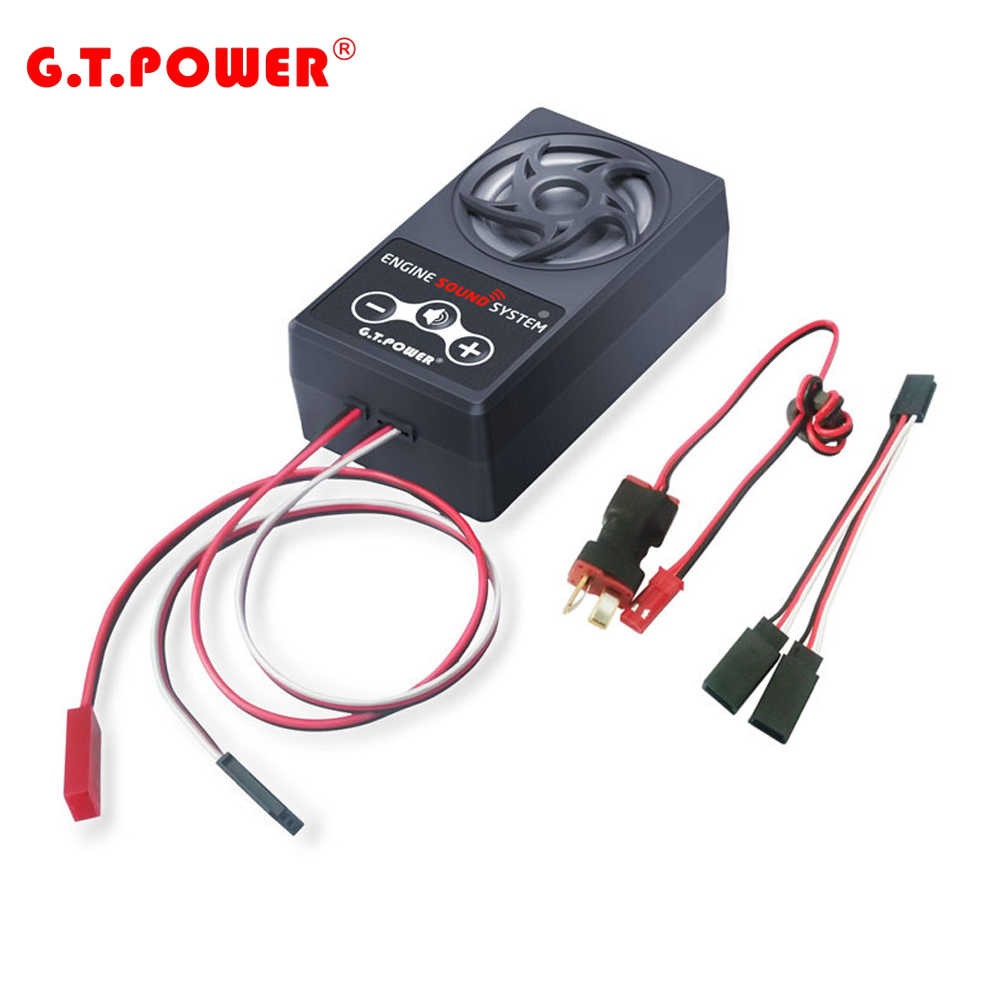 Gtpowerエンジン音模擬システムのrc車アキシャルscx 10 iiレイスTRX4