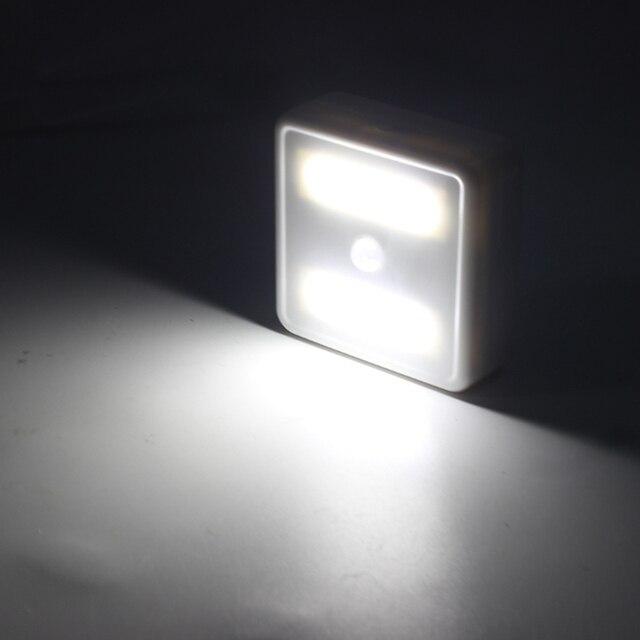 WAKYME LED Motion Sensor Night Light Cabinet Light Cupboard Wardrobe Bedroom Lamp UV Sterilizer Disinfection Lights UVC Lamp