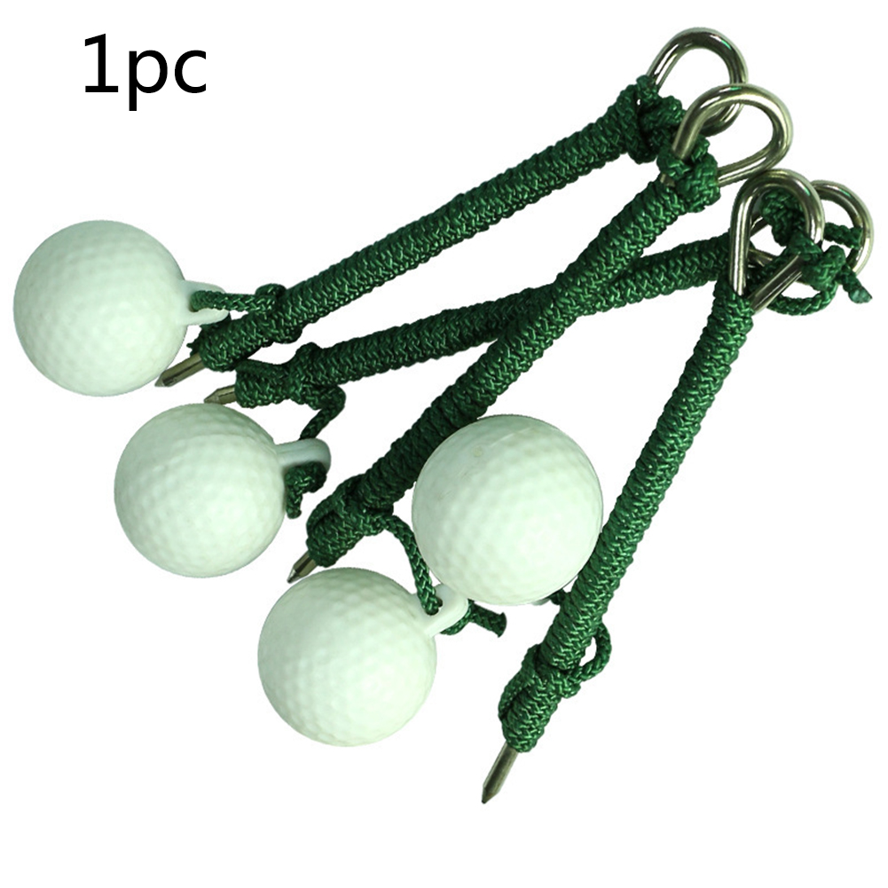 Swing Hit Plastic Practical Practice Shot Training Aids Outdoor Sport Beginners With Rope Accessory Durable Golf Ball