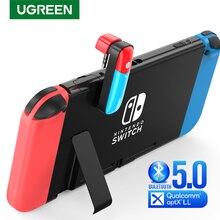 UGREEN переключатель Bluetooth 5,0 аудио 3,5 мм Передатчик Адаптер для Nintendo переключатель APTX LL беспроводной передатчик