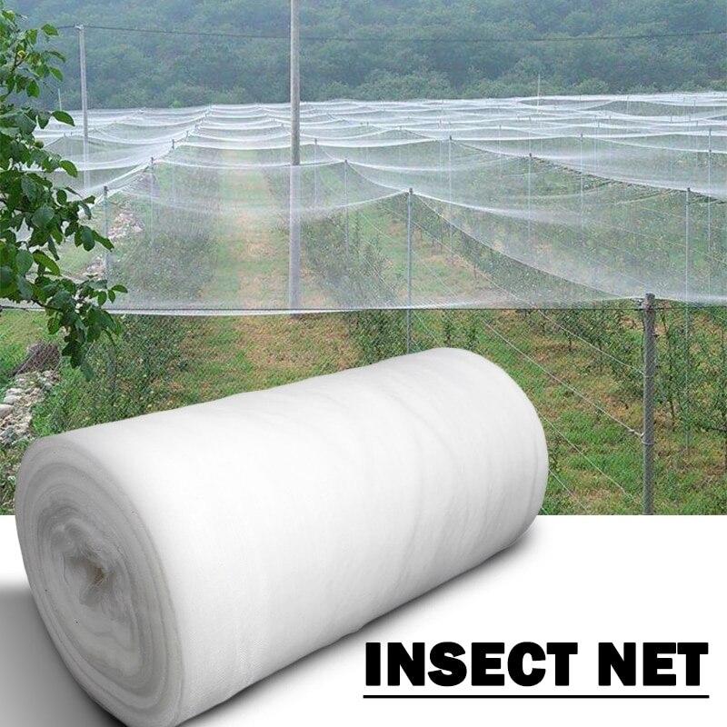 Сетка для защиты сада, нейлоновая пластиковая сетка для птиц, курей, собак, кошек, теплиц, 60 ячеек