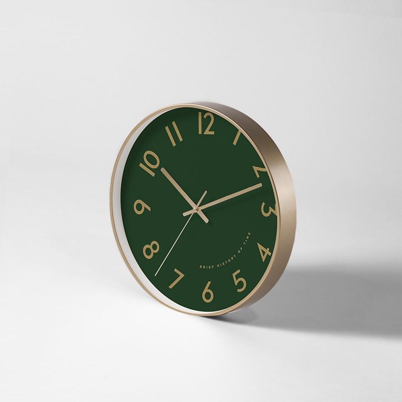 Minimalist Bedroom Nordic Wall Clock Analog Watch Modern Design Wall Clocks Decorative Watches Living Room Watch Decor II50BGZ