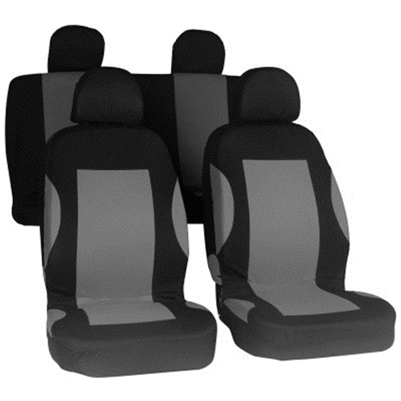 O SHI CAR Universal Automobile Seat Cover For Five-seater Cars Fashion Fabric Chairs Protective Sleeve