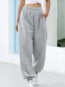 Harem-Pants Baggy-Trousers Joggers Women Hip-Hop Loose Summer Fashion Casual Solid High