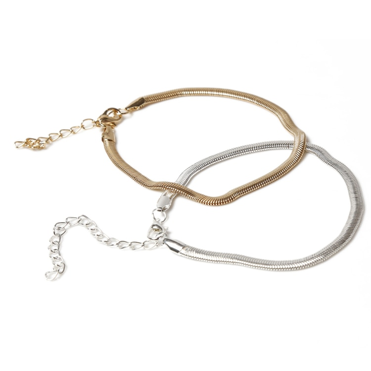 New Fashion Accessories Fine Jewelry sweet Color Chain Anklet Adjustable Charm Anklet Ankle Leg Bracelet Foot Jewelry