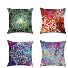 Bohemian Mandala Geometric Starry Sky Throw Pillow Cushion Covers New kussenhoes Pillowcase housse de coussin Decorative Sofa